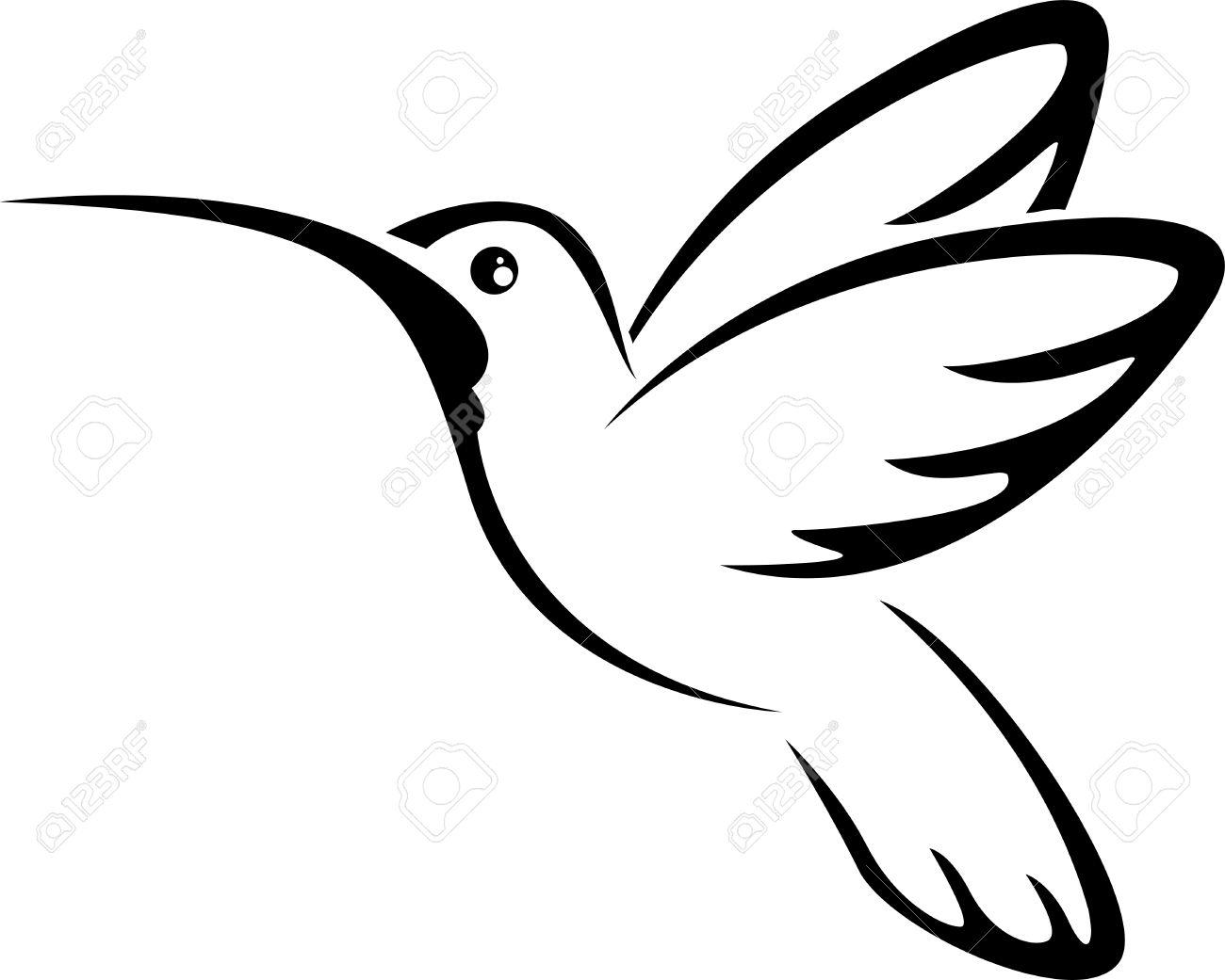 Tattoo hummingbird for you design - 41506566