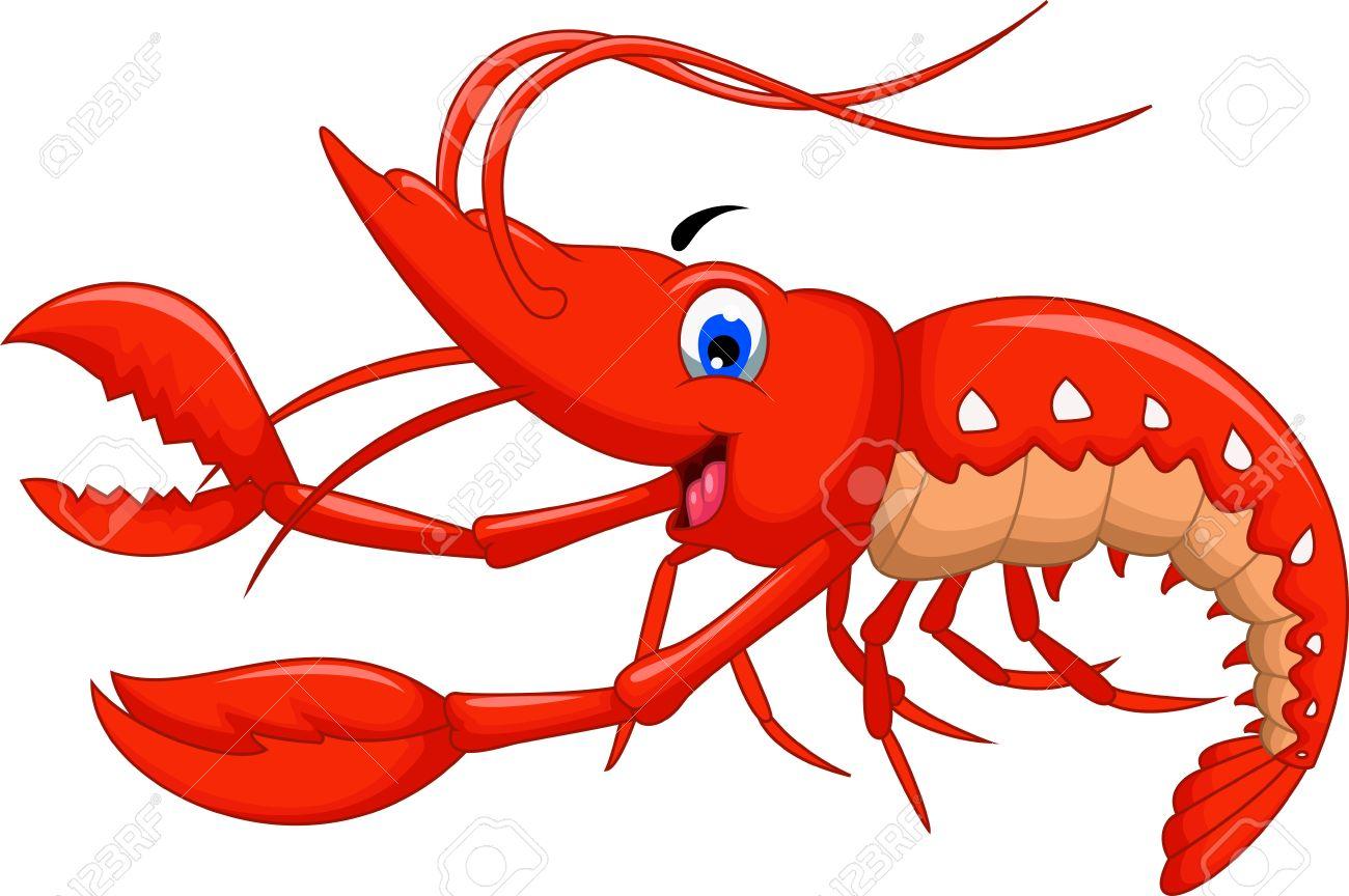 shrimp cartoon for you design royalty free cliparts vectors and rh 123rf com Shrimp Clip Art Black and White Shrimp Boats Clip Art Vector
