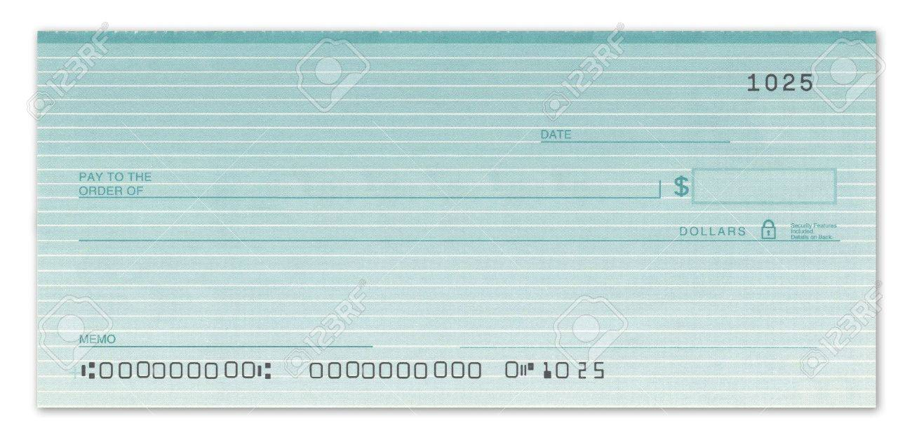 blank check with fake numbers in green. stock photo, picture and, Powerpoint templates