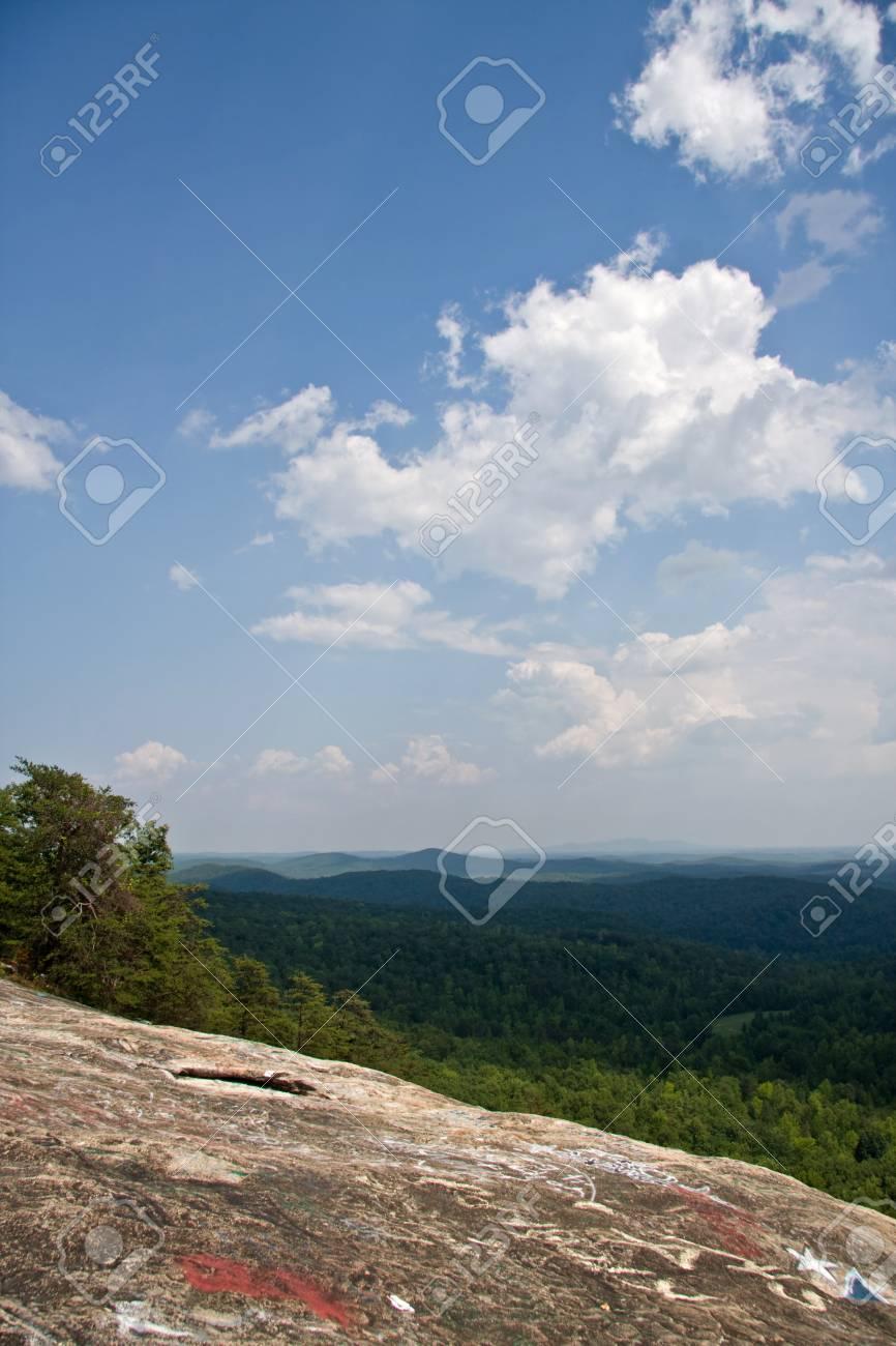 Bald Rock Heritage Preserve in South Carolina Stock Photo - 17545384
