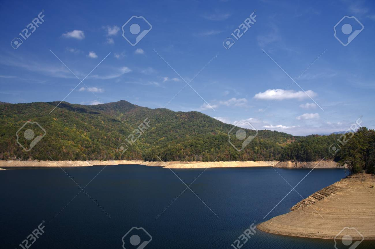 Low Water Levels Stock Photo - 17589197