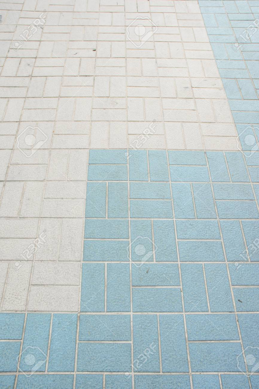 Old Tile Design Floor Pattern Detail Stock Photo, Picture And ...