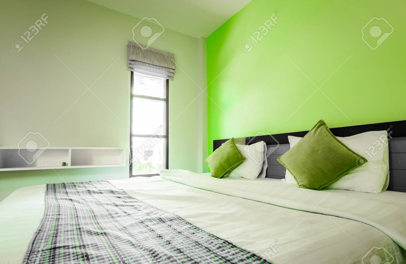 Style ancien fond de la petite chambre à coucher