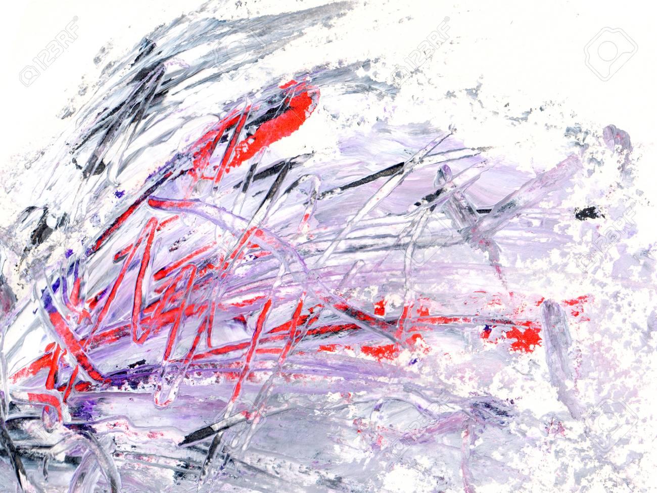 Peinture à L'huile Couleur Texture Sur Papier
