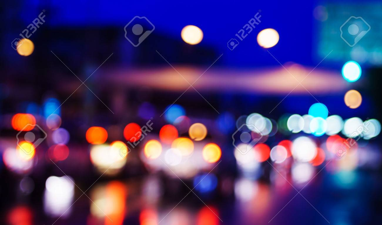 City Night Light Bokeh And Light Blurred Background Stock Photo Picture And Royalty Free Image Image 73686850