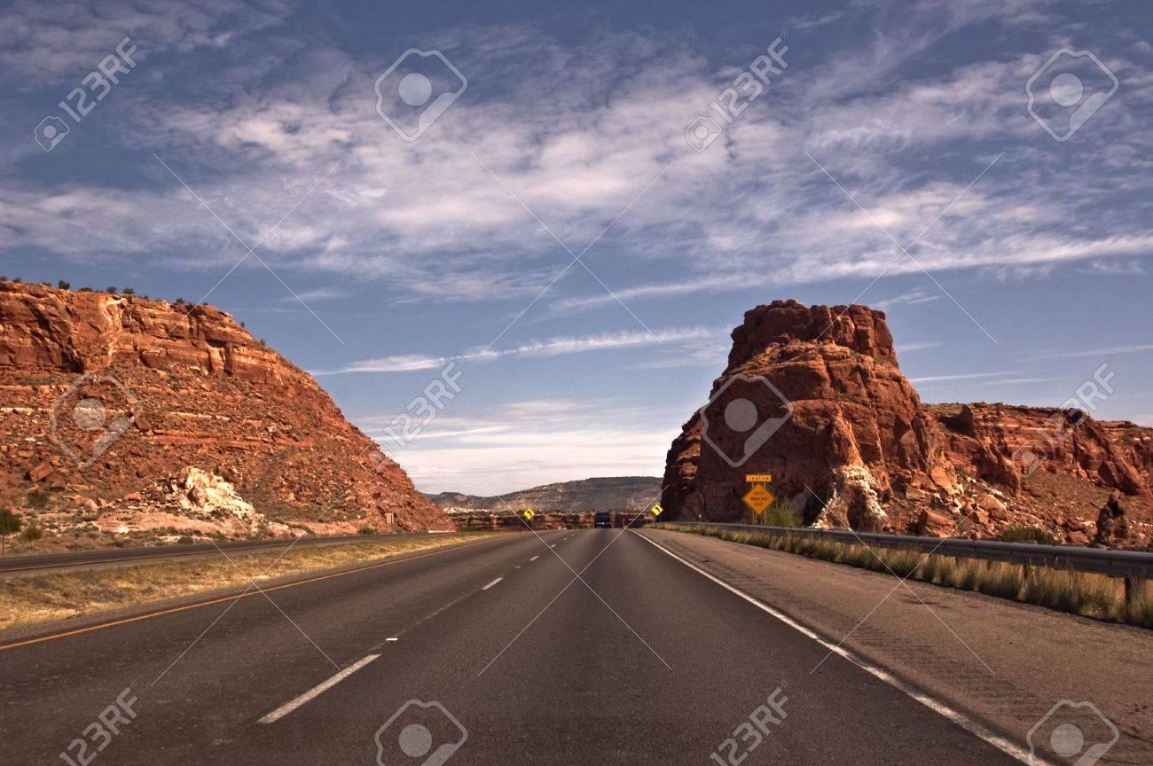 New Mexico Highway Stock Photo - 7757490