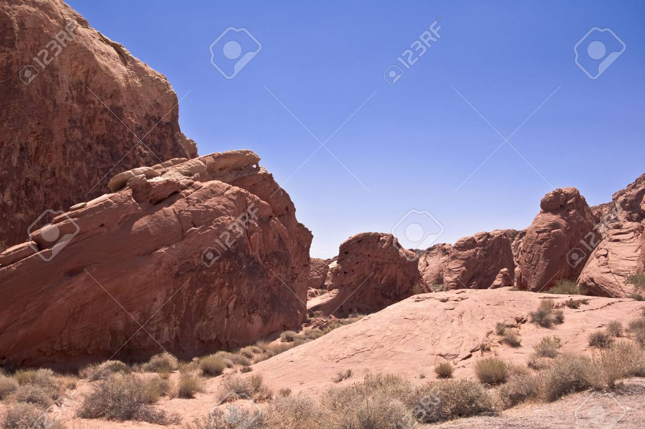 Valley of Fire State Park View Stock Photo - 7918928