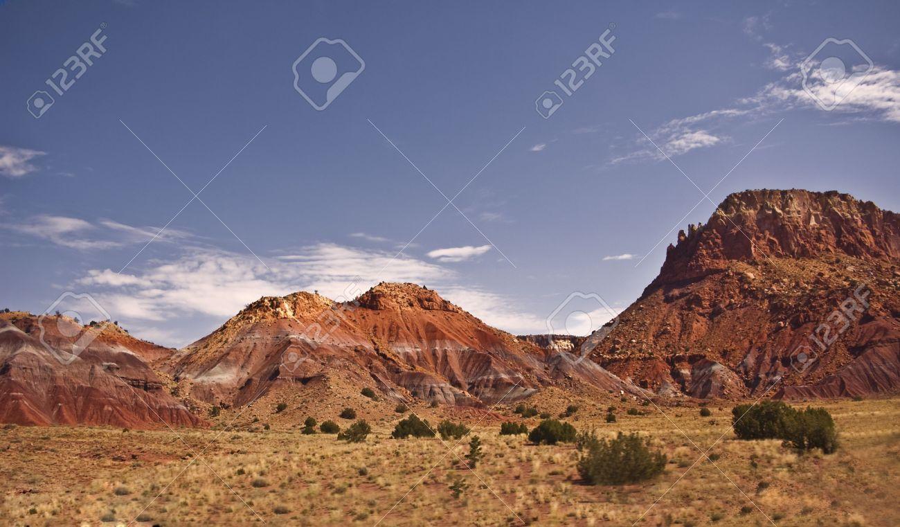 New Mexico Landscape Stock Photo - 8245747