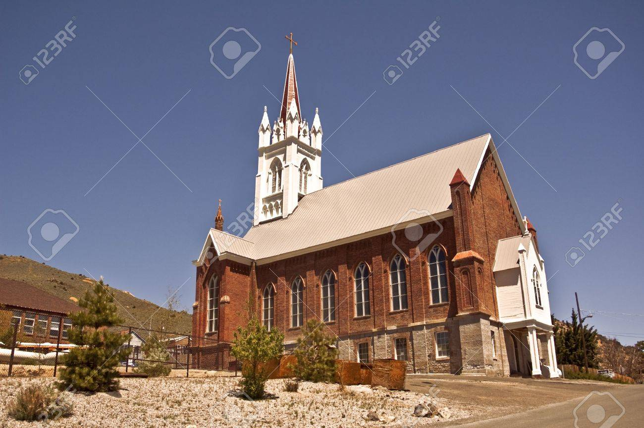 St. Mary's in the Mountains Church Stock Photo - 8666791