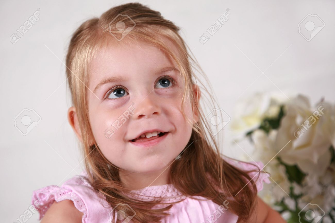 beautiful 2 year old girl stock photo, picture and royalty free
