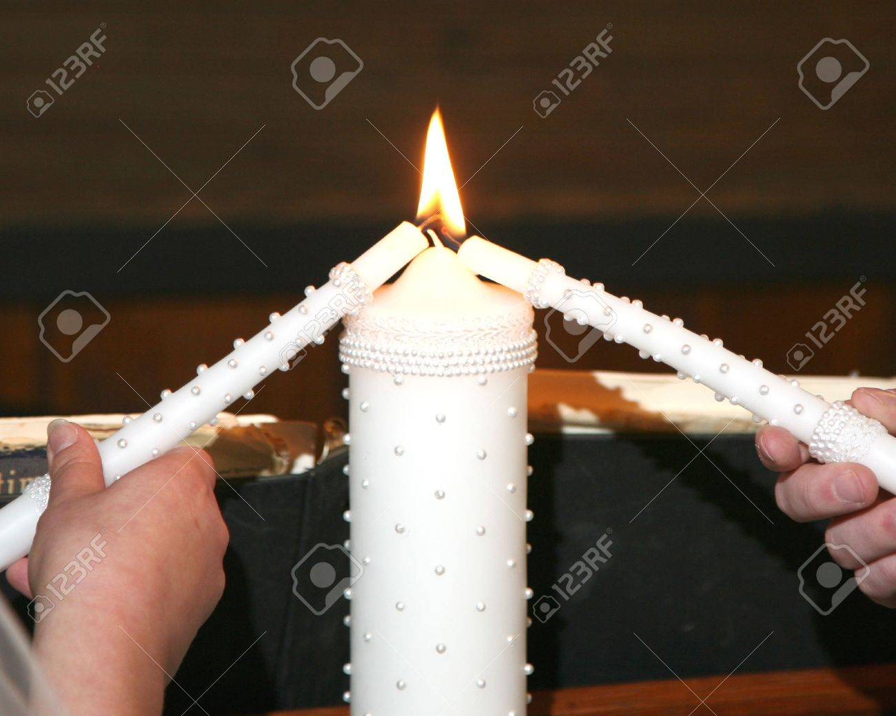 Hochzeit Unity Candle