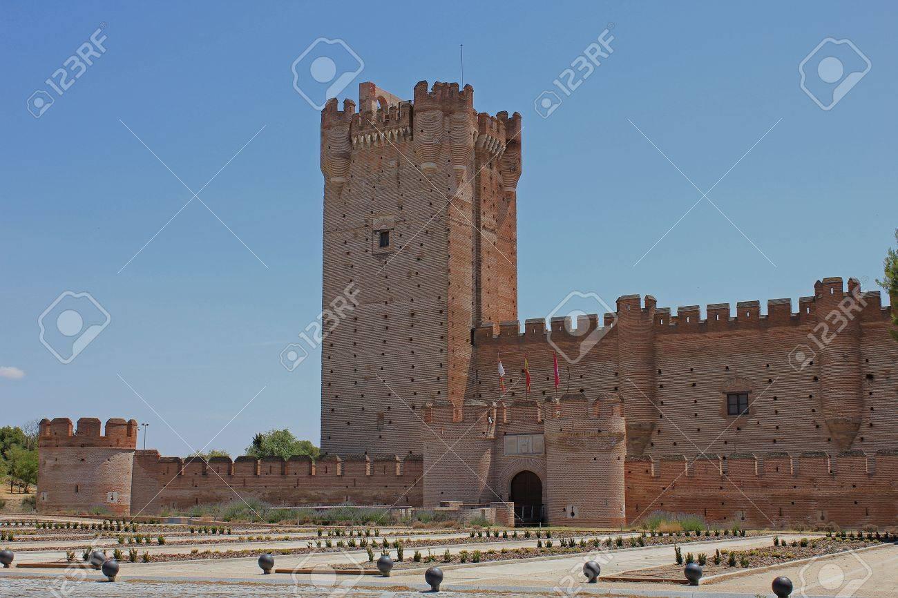 ラ モタ城、Medina Del Campo、...