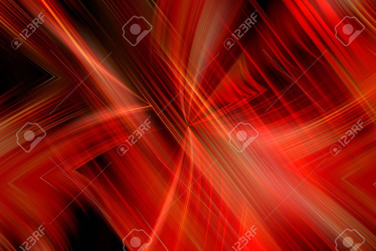 Windy red  flame Stock Photo - 7128317