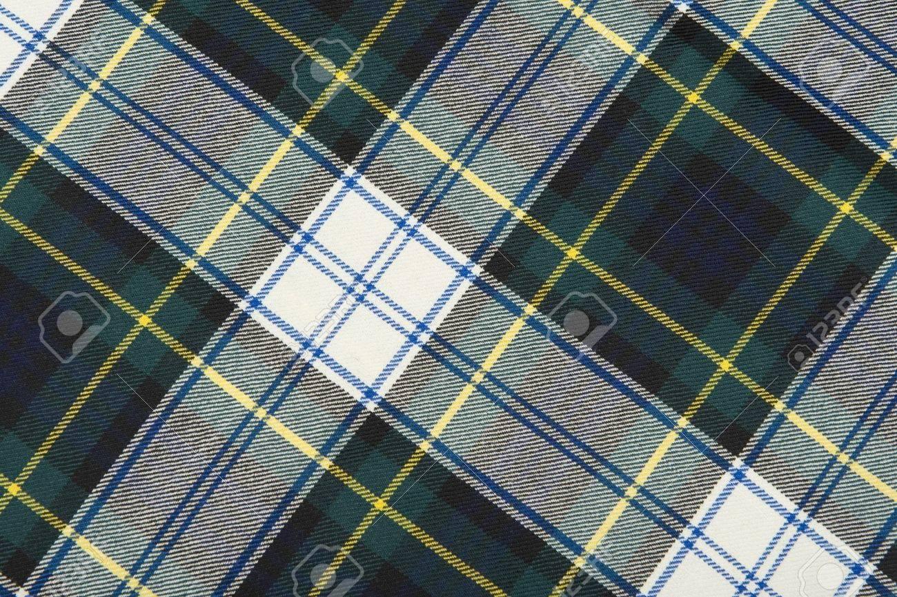 Campbell tartan wool fabrics - 9378160