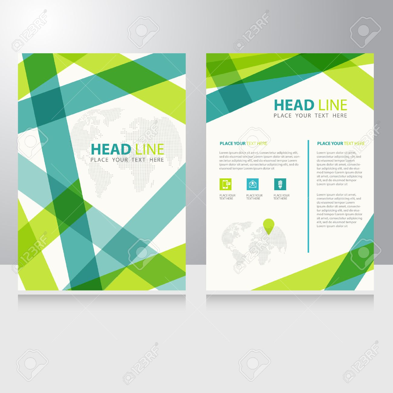 168,563 Booklet Design Template Cliparts, Stock Vector And Royalty ...