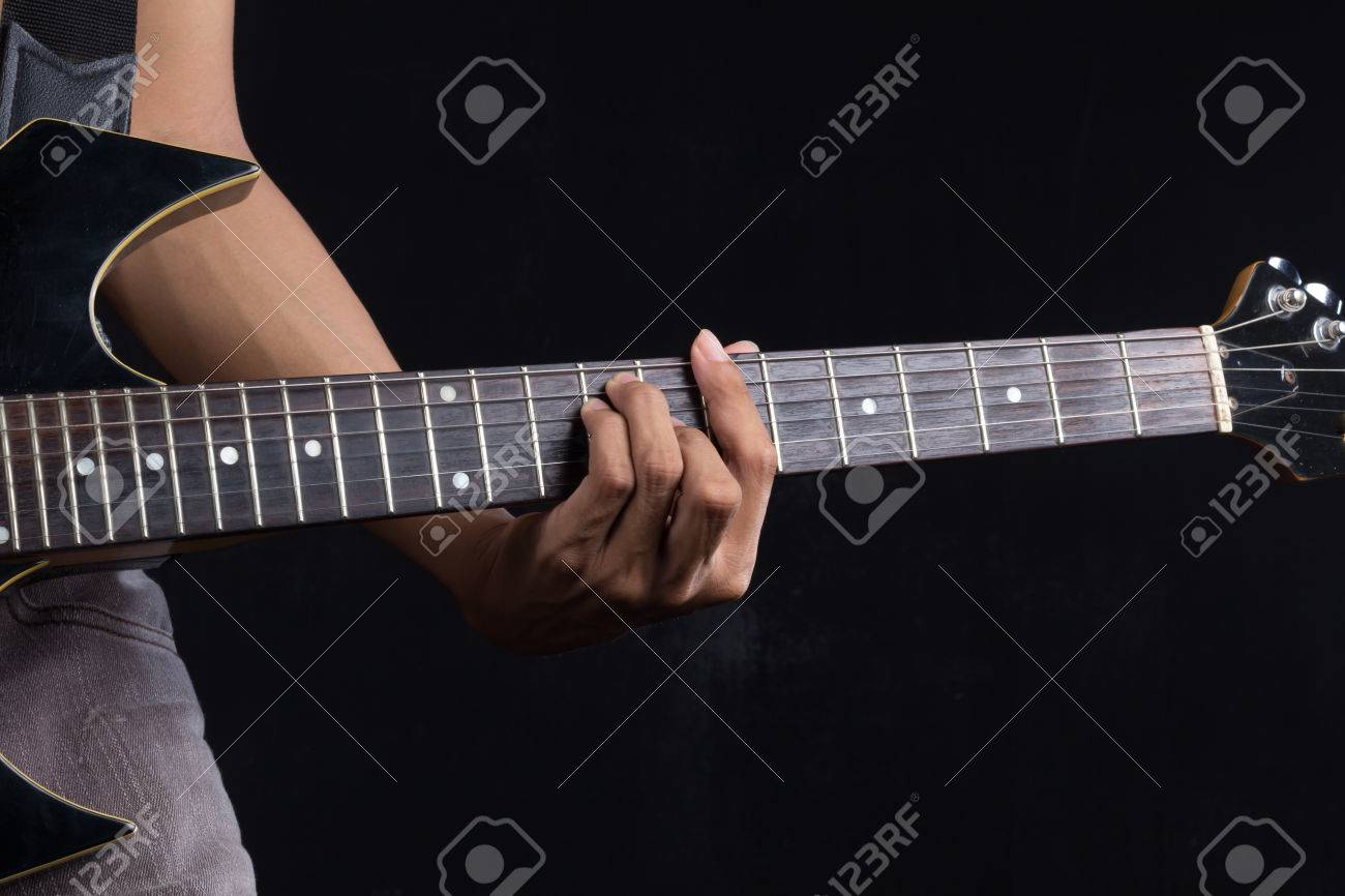 B Guitar Chord Stock Photo Picture And Royalty Free Image Image