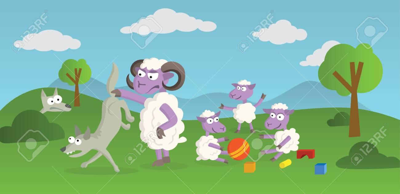 histoire drole mouton