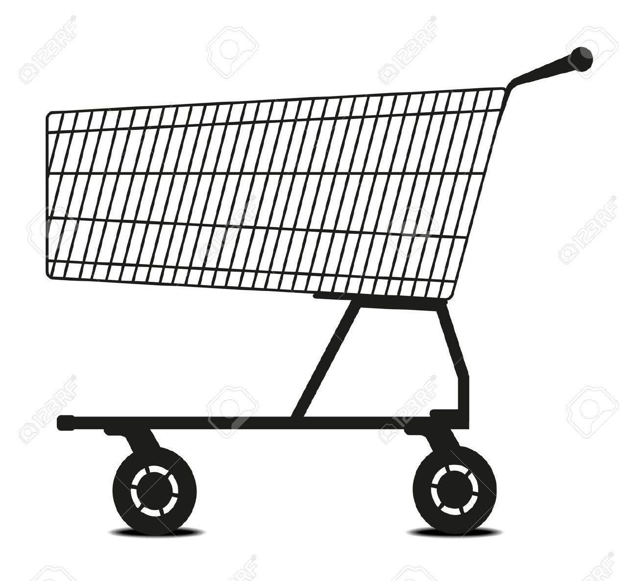 Shopping cart Stock Vector - 10336149