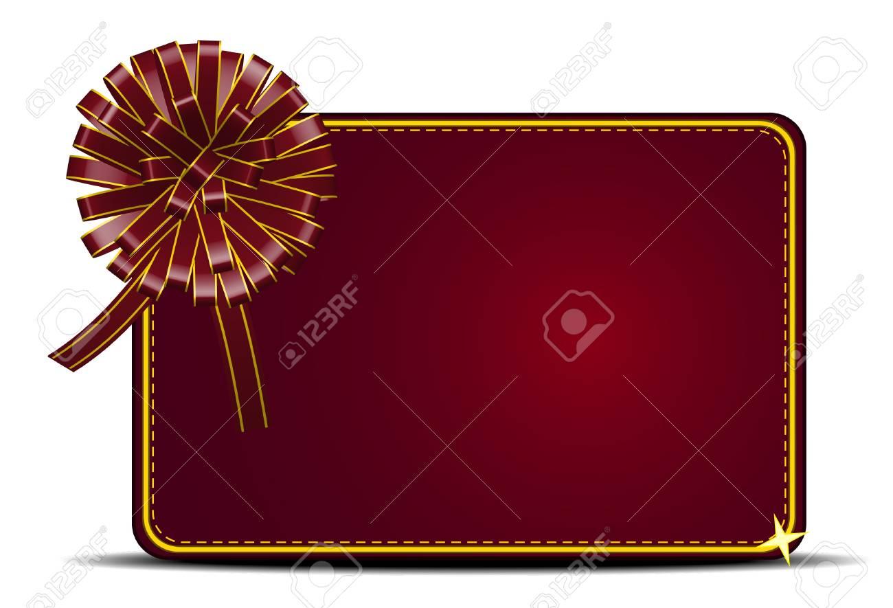 Gift card Stock Vector - 10410695