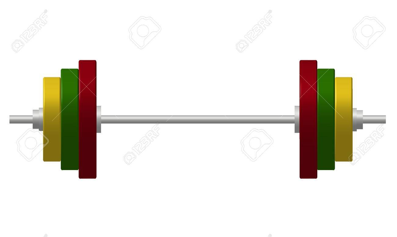 Dumbbell Stock Vector - 11060110