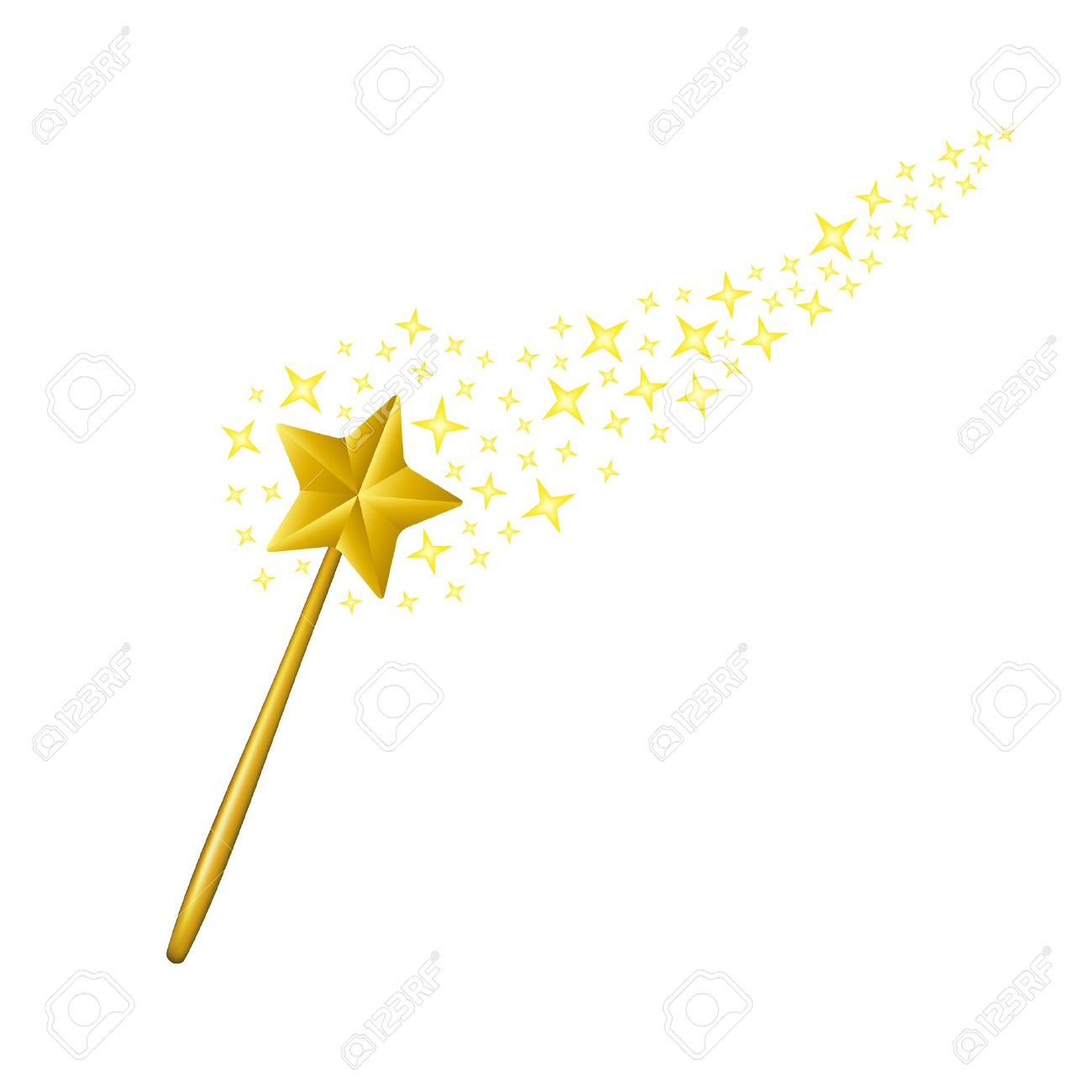 Magic wand Stock Vector - 14886980