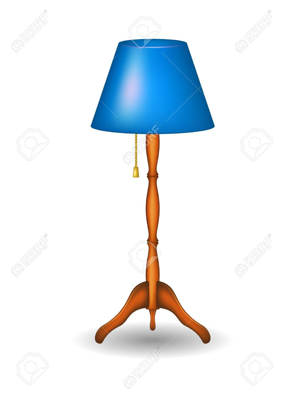 Lampe clipart  Pied De Lampe Clip Art Libres De Droits , Vecteurs Et Illustration ...