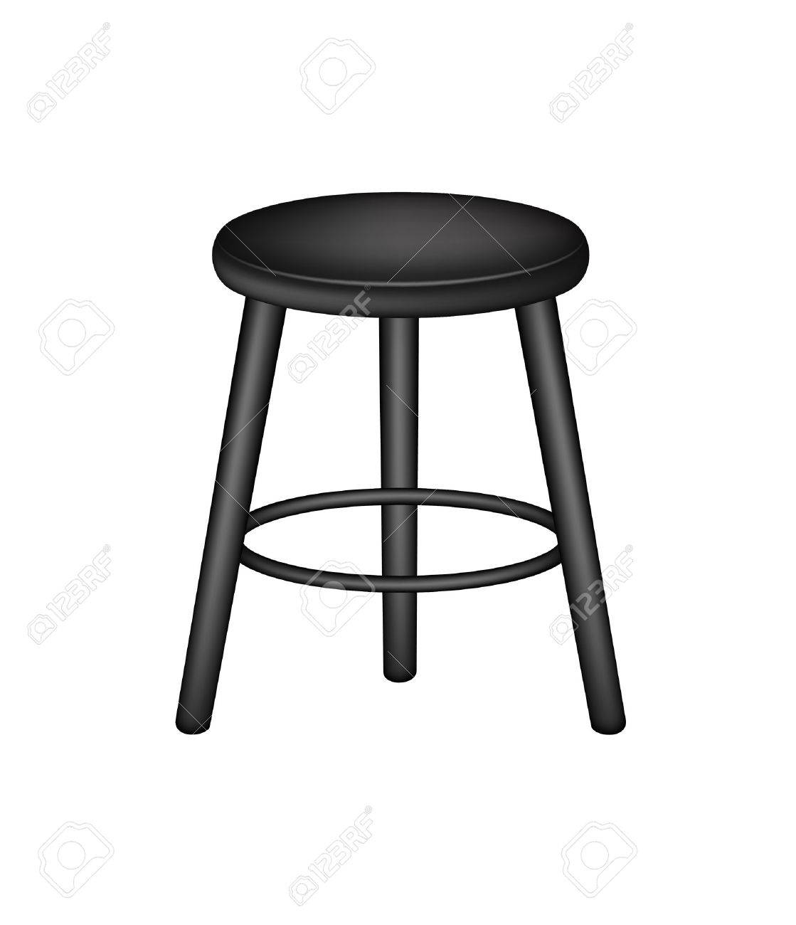 Phenomenal Retro Stool In Black Design Ocoug Best Dining Table And Chair Ideas Images Ocougorg