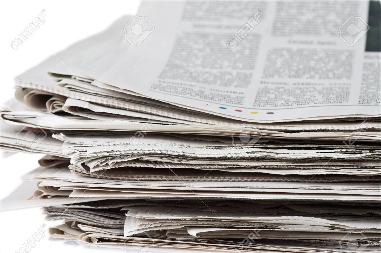 pile of newspaper Stock Photo - 3995734