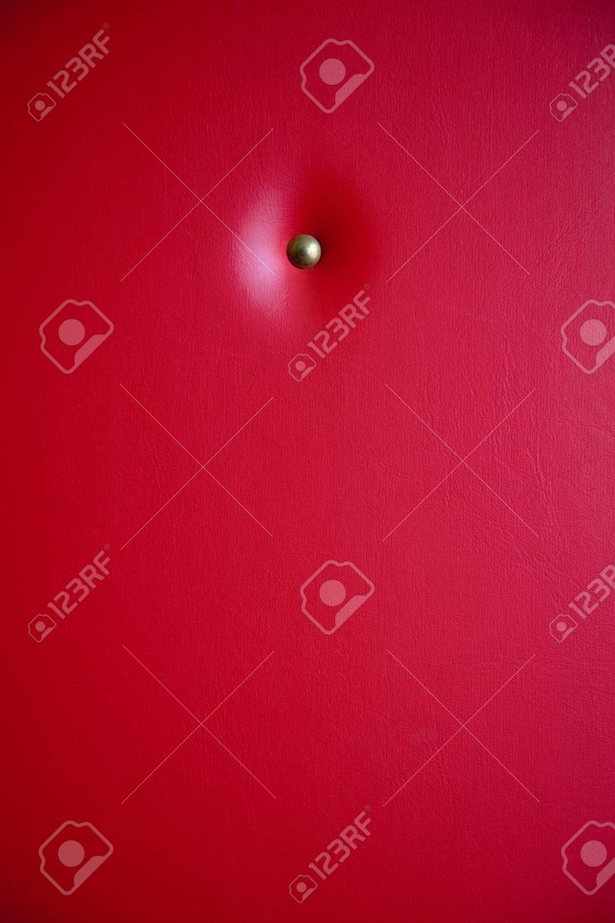 background with red leather upholstery Stock Photo - 5882203