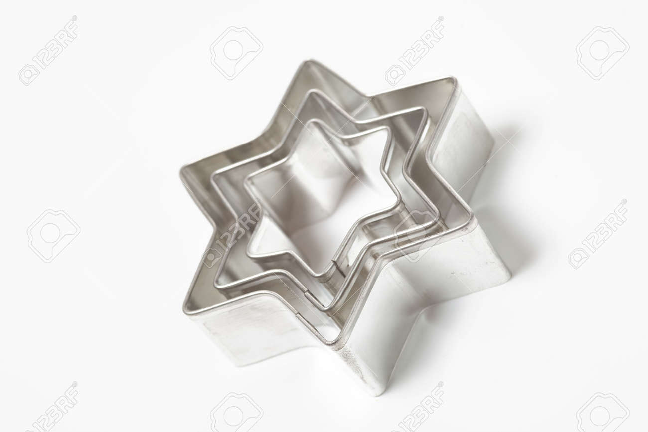 cookie cutters on white background Stock Photo - 5926147