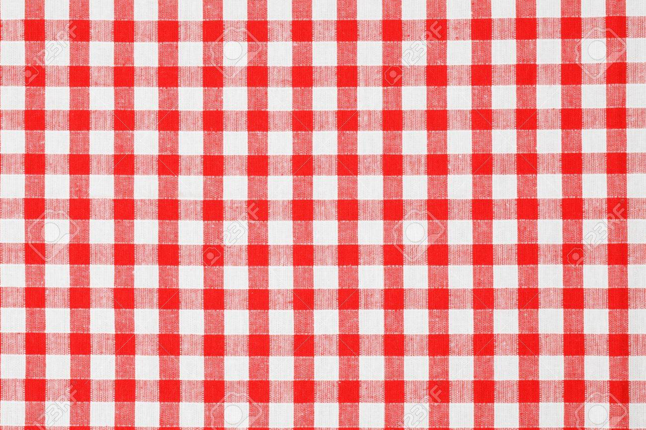 Charming Checkered Tablecloth Stock Photo   7070395