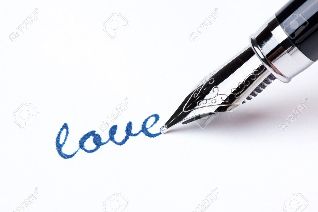 writing message with black pen Stock Photo - 7529141