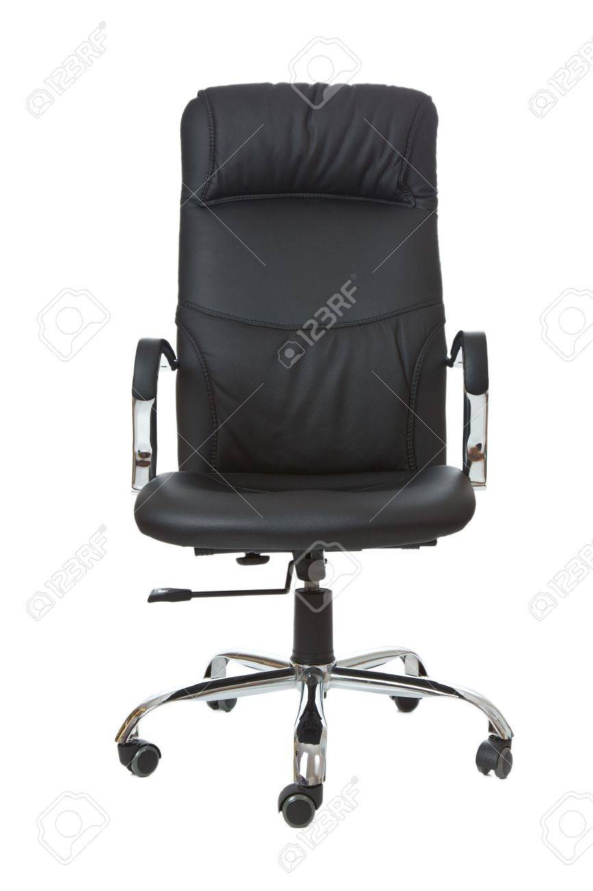 the office chair on white background Standard-Bild - 9086902