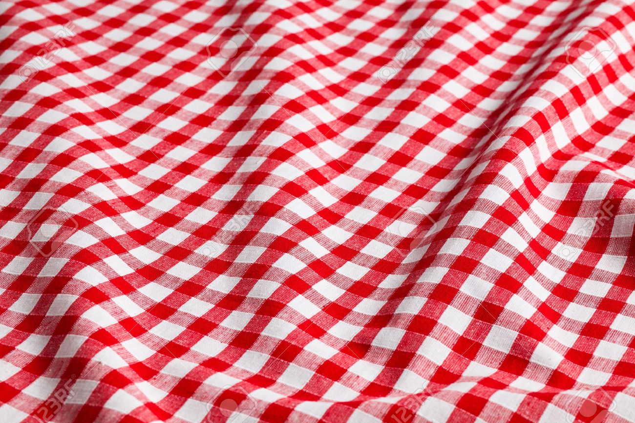 The White And Red Checkered Background Stock Photo   12509804