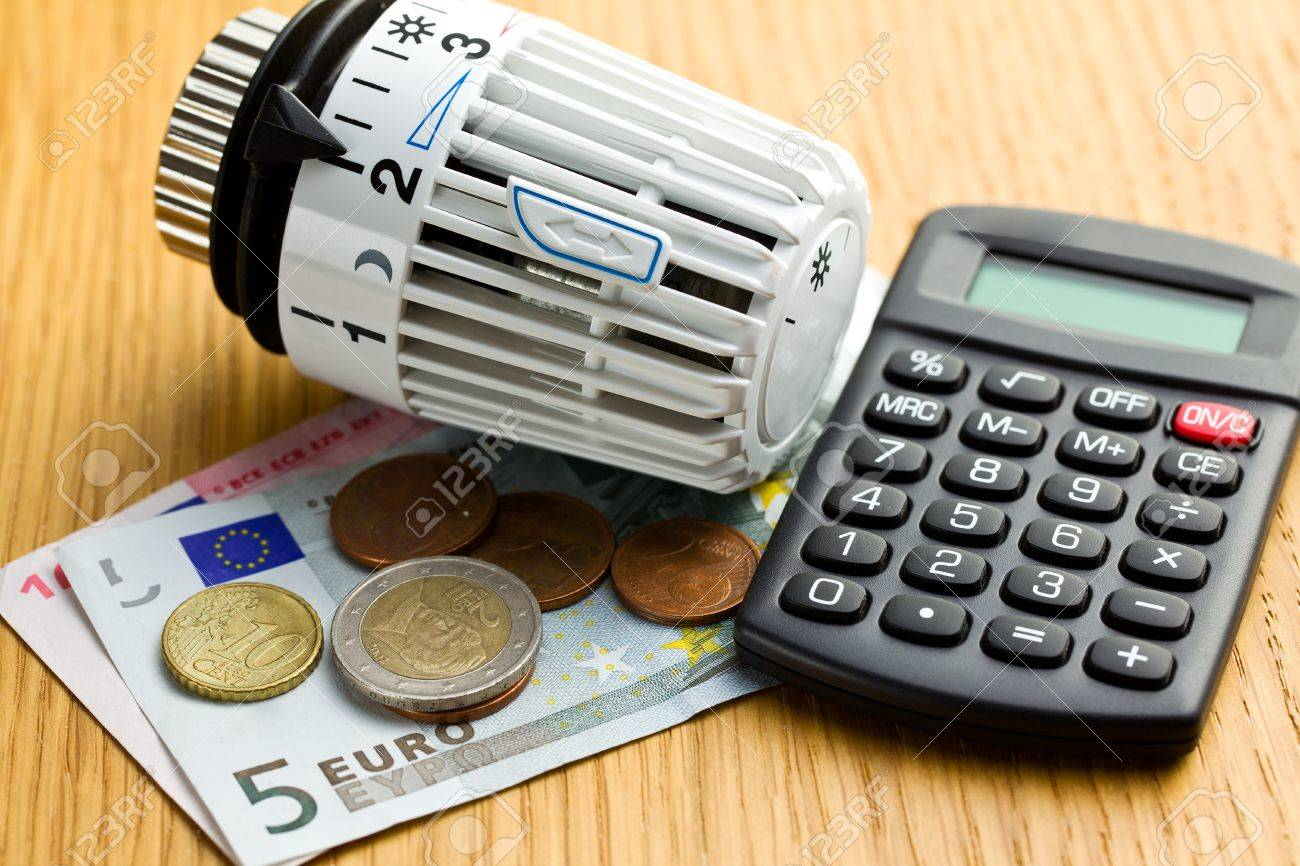 business concept. savings in heating Stock Photo - 16215466