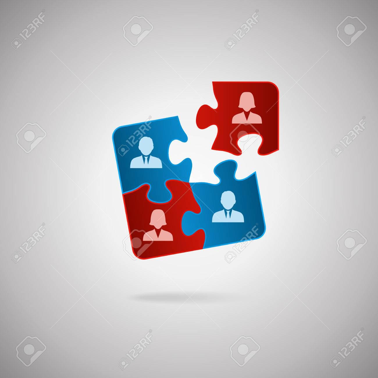 Business Team Logo Vector Business Team Human