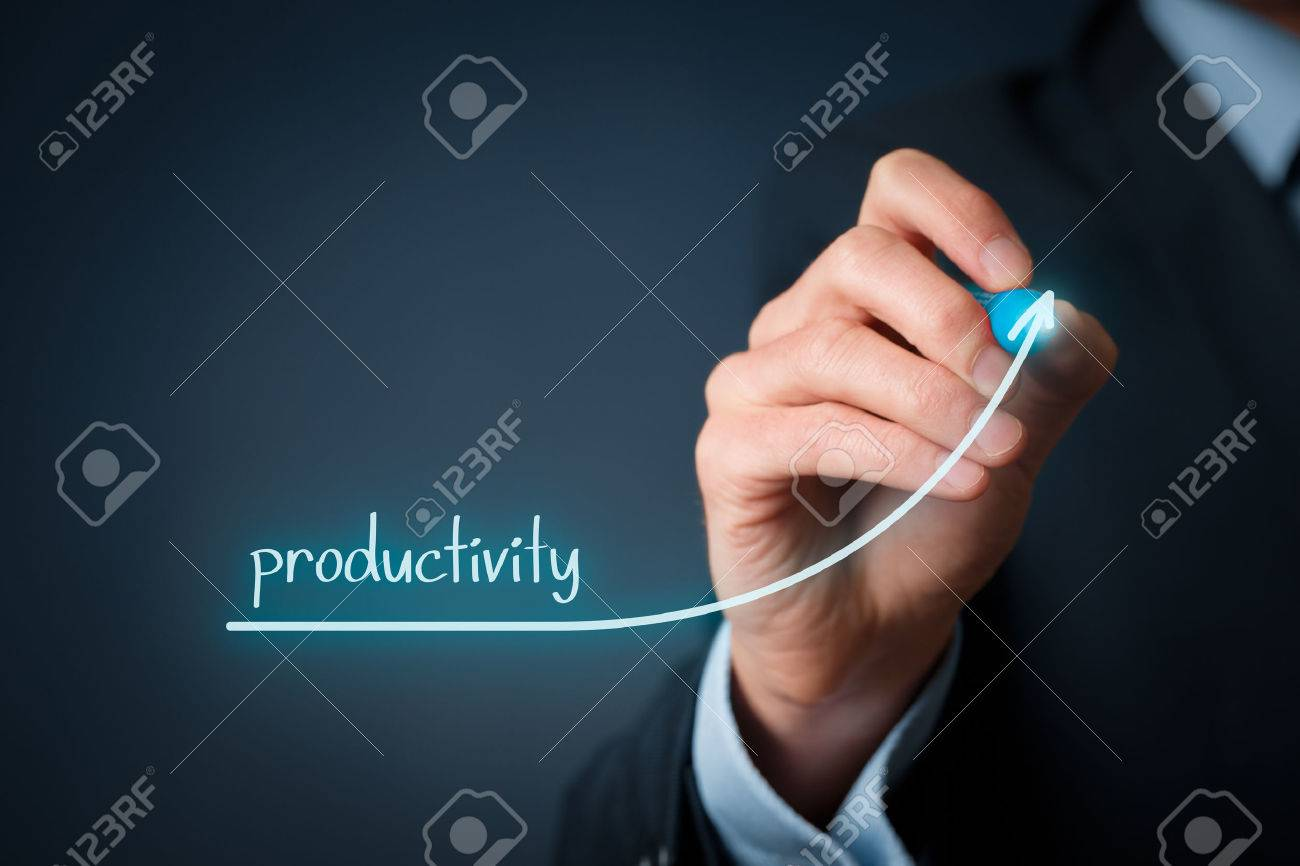 Manager (businessman, coach, leadership) plan to increase company productivity. - 39062733