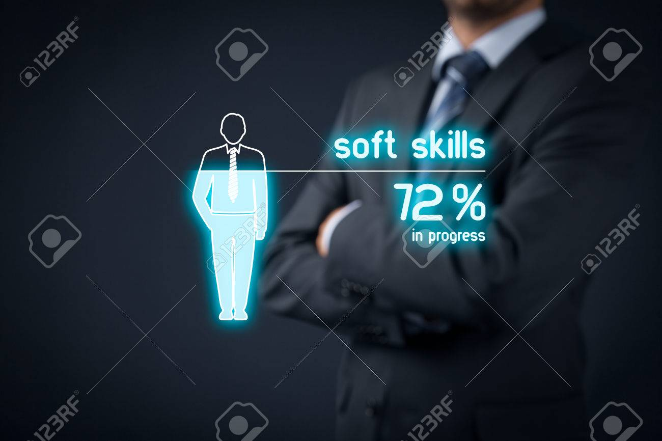 soft skills stock photos pictures royalty soft skills soft skills soft skills training in progress visual metaphor manager improve his soft