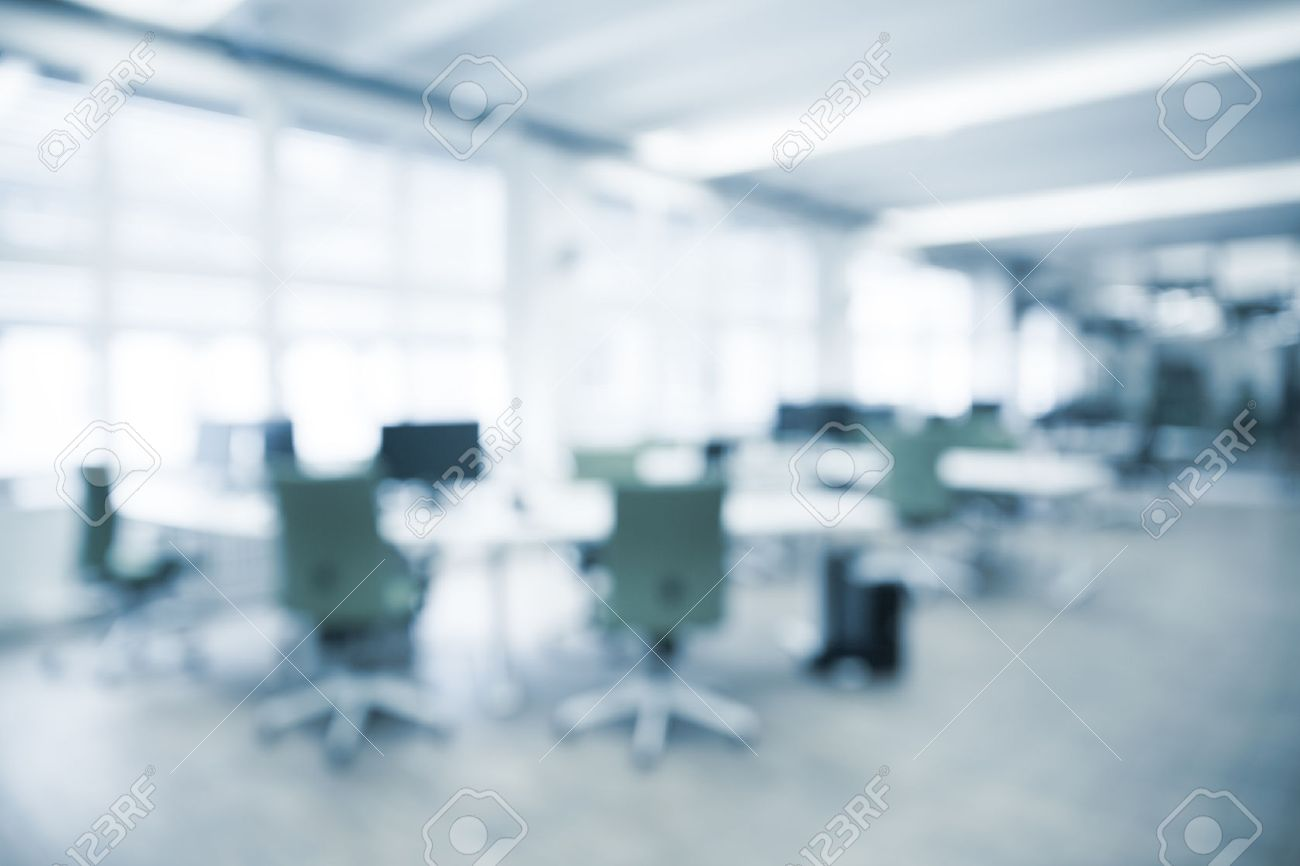 Office Background - Blurred And Defocused - Ideal For Business ...