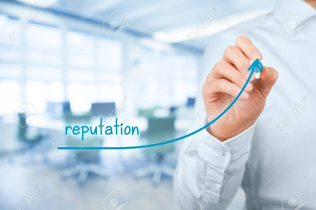 Corporate Reputation Improvement Concept Businessman O Pr Specialist Stock Photo Picture And Royalty Free Image Image 58832500