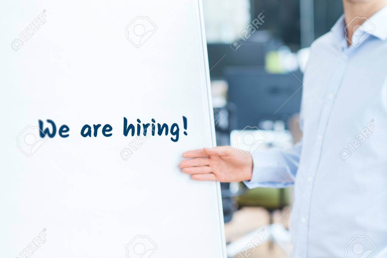 we are hiring human resources concept headhunter recruiter we are hiring human resources concept headhunter recruiter write and underwrite text