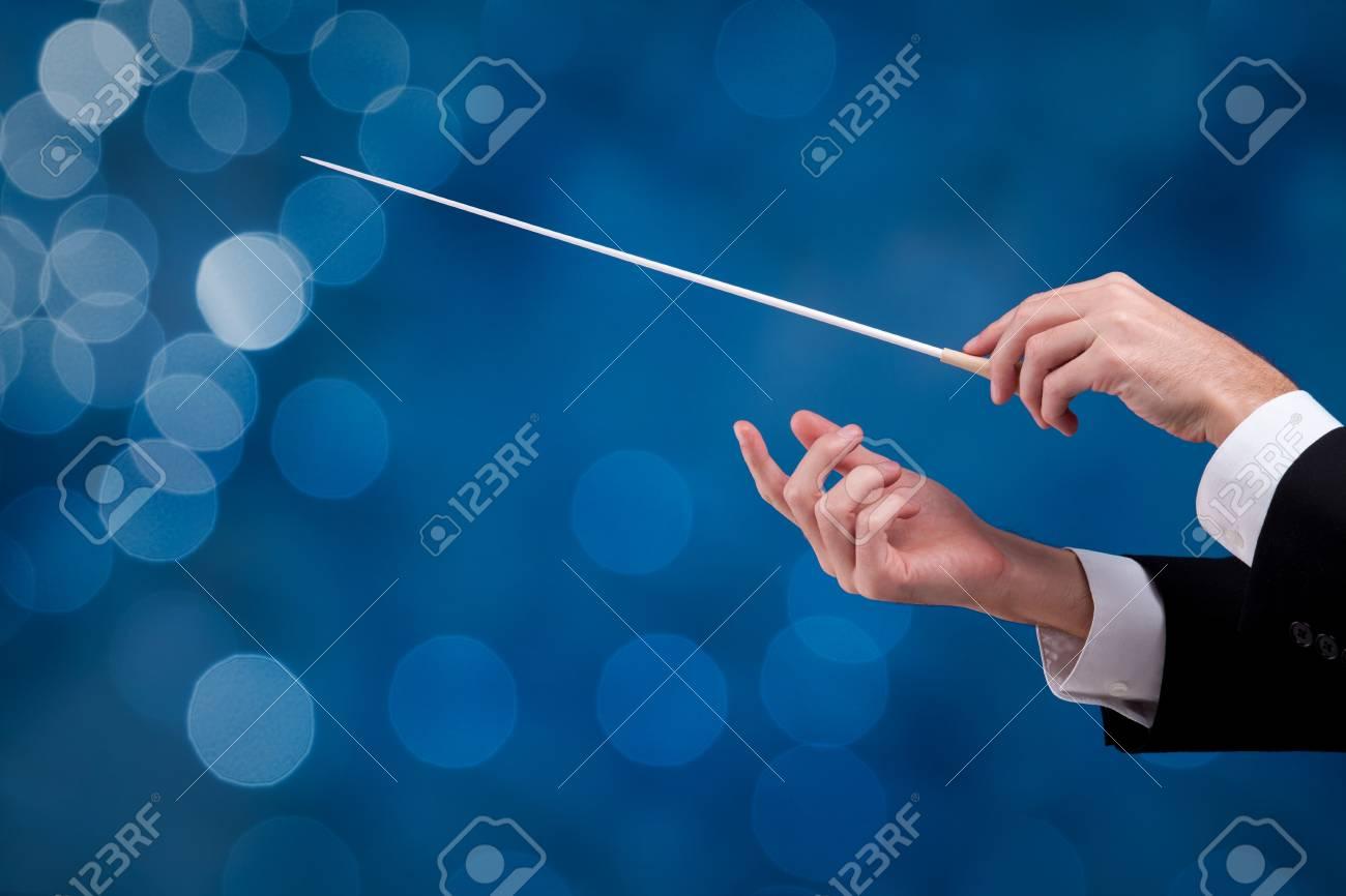 taktstock des dirigenten