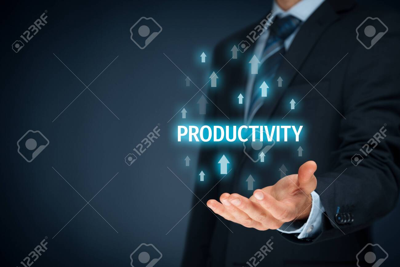 Coach motivate to productivity improvement. Manager (businessman, coach, leadership) plan to increase company productivity. - 138533797