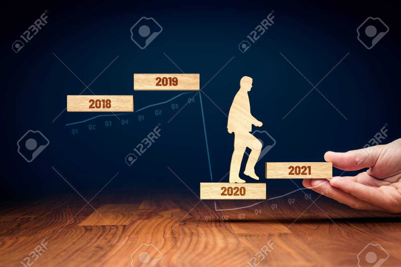 Post covid-19 era helping hand for business and economy concept. Government economic stimulus after covid-19. Secretary of the treasury (politician) stimulate economy for GDP growth in year 2021. - 146585827