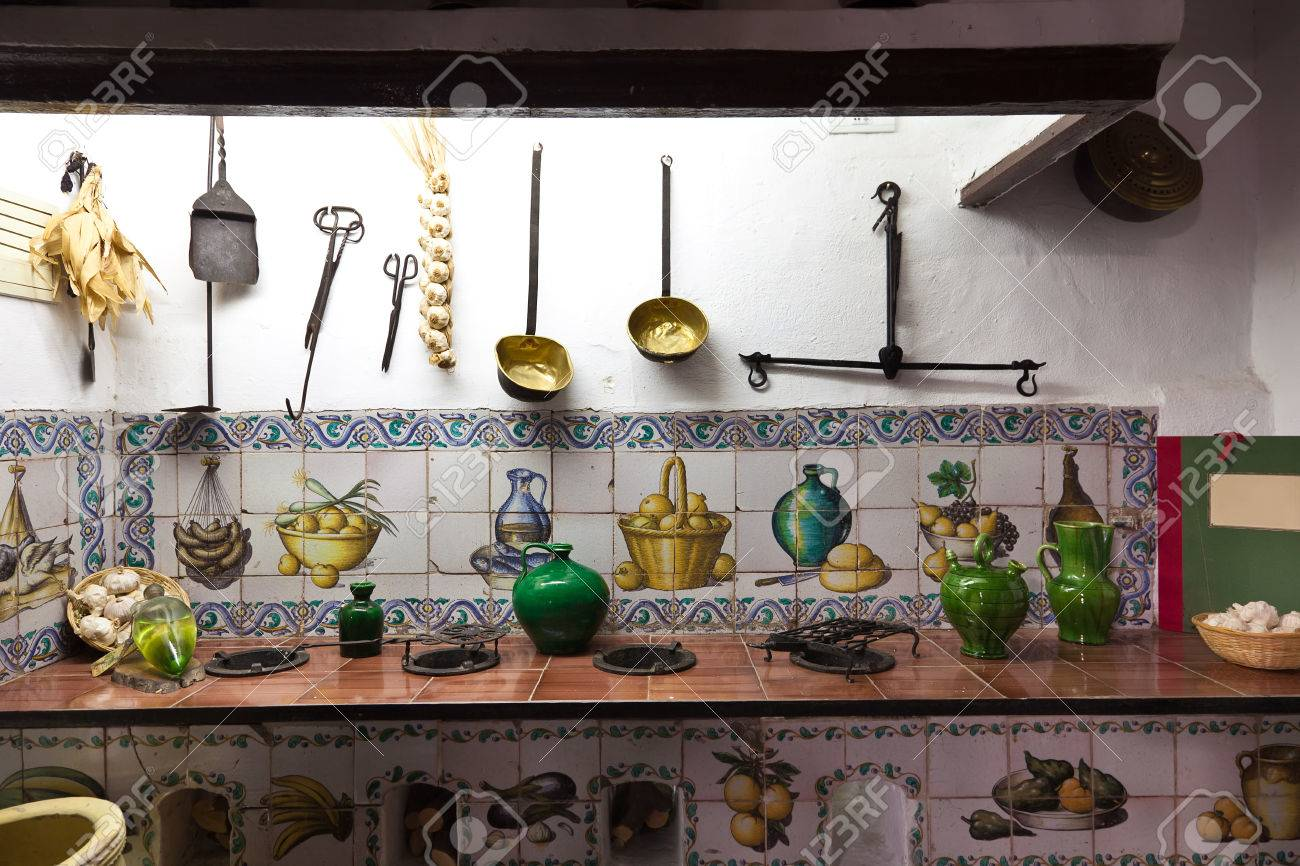 Old Kitchen Very Old Kitchen With Ancient Utensils Stock Photo Picture And