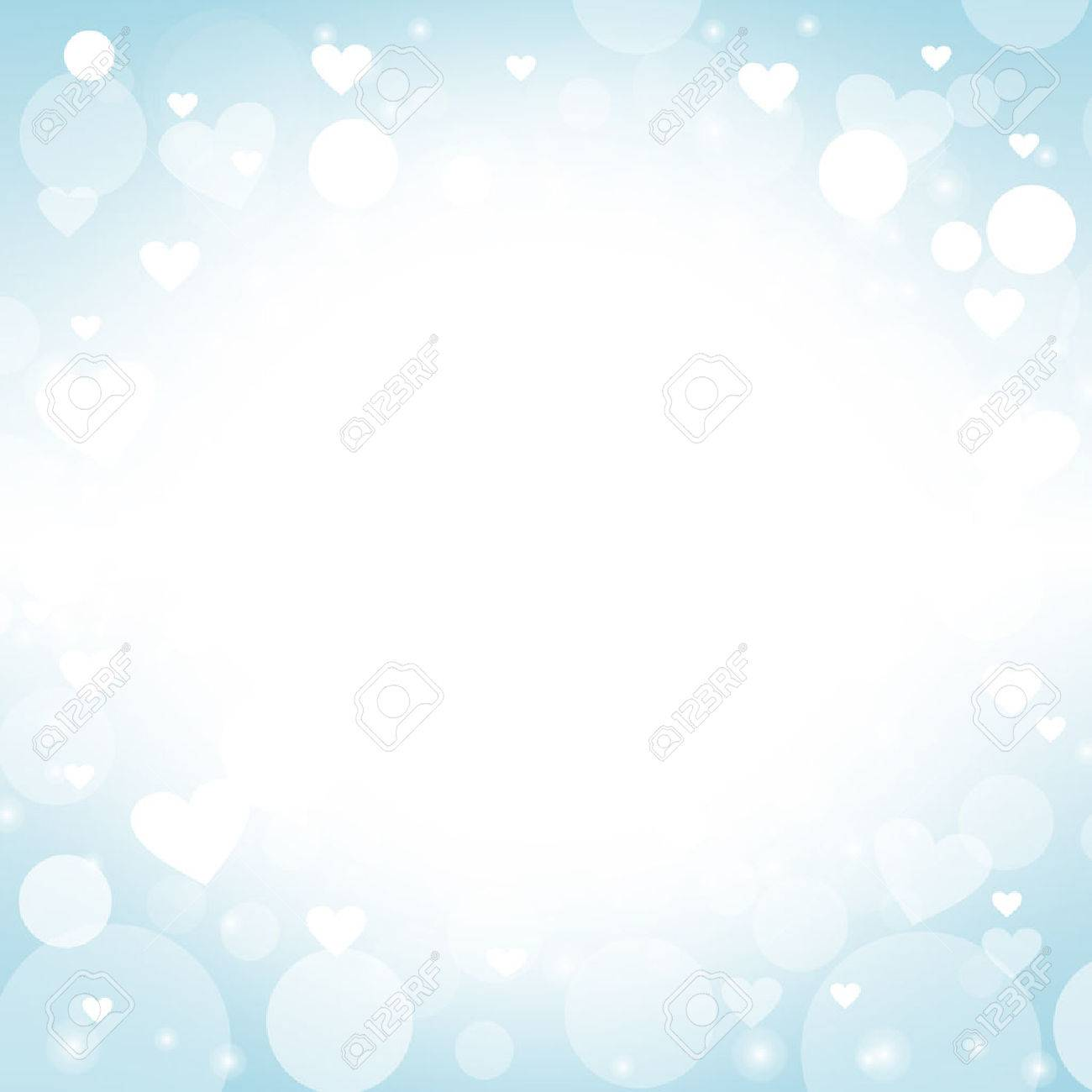 heart shape vector abstract blue background design ideas for valentines day love cards