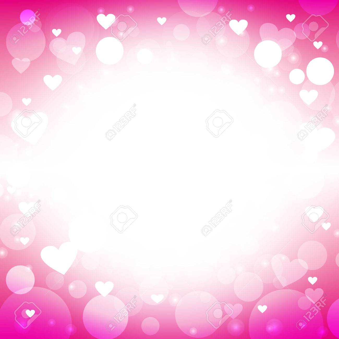 heart shape vector abstract magenta background design ideas for valentines day love cards