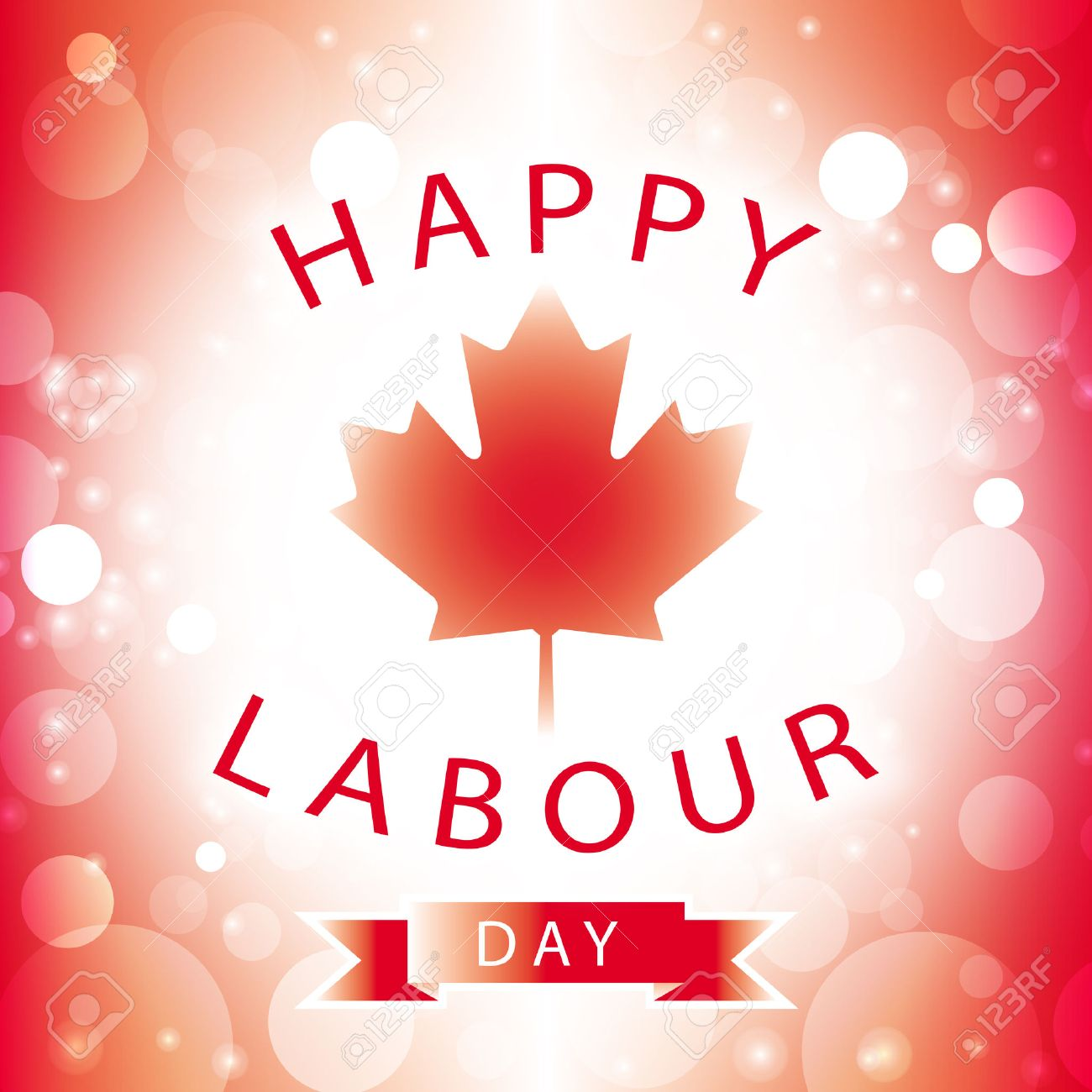 Canada happy labour day greeting card abstract flag background canada happy labour day greeting card abstract flag background vector stock vector 43890453 m4hsunfo
