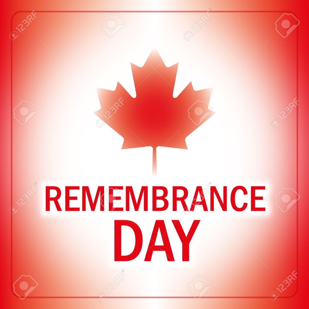 remembrance day canada banner abstract canadian flag background