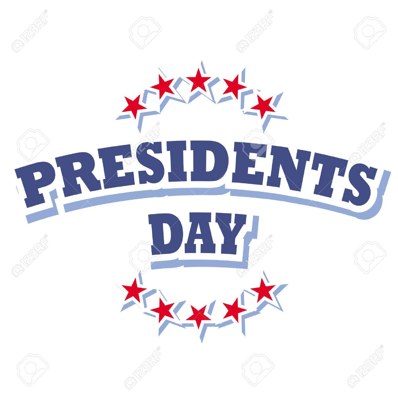 america presidents day sign vector isolated on white background rh 123rf com presidents day clip art 2018 presidents day clip art black and white